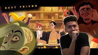 V I R T U A L FRIENDS!?? | Best Friend Animated Short REACTION!!!