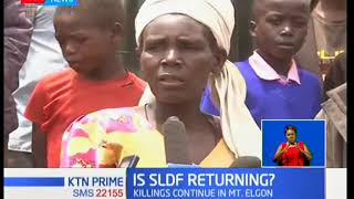 Fears of a resurgence of the Sabaot land defense forces in Mt Elgon as night killings and village r
