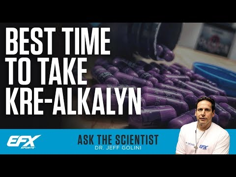 Ask the Scientist #96: The Best Time To Take Kre-Alkalyn