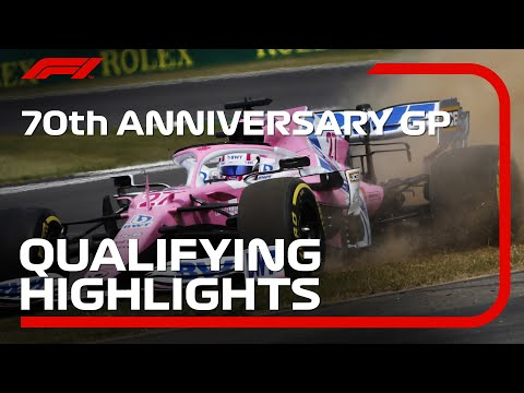 F1 2020 第5戦イギリスGP(70周年記念グランプリ) シルバーストーンで行われた予選結果と予選ハイライト動画
