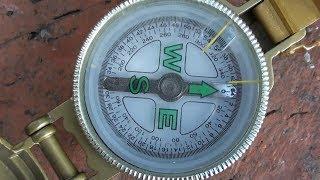 Как пользоваться компасом в лесу без карты уроки