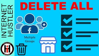 How To Delete Facebook Marketplace Listings In ALL Groups At Once