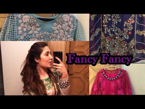 Fancy Dress Designs - Elegant and Simple Designs -Wedding Season !!!