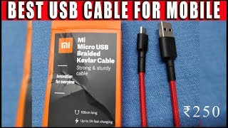 Mi Micro USB Braided Cable | UNBOXING | TESTING &  REVIEW |