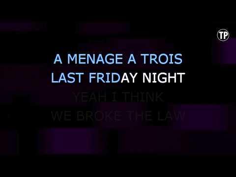 Last Friday Night (T.G.I.F.) - Glee Cast (Karaoke Version) | TracksPlanet