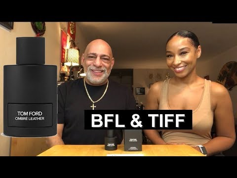 Tom Ford Ombre Leather REVIEW with TIff Benson