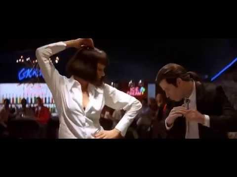 Ума Турман. Джон Траволта. Танец. \