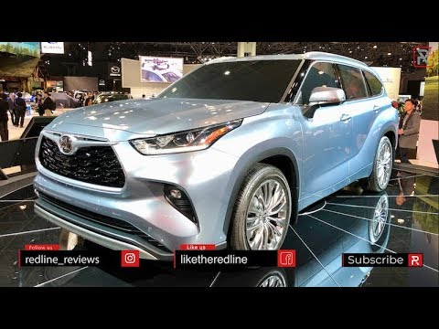 2020 Toyota Highlander – Redline: First Look – 2019 NYIAS