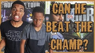 CAN HE DEFEAT THE CHAMP! - NFL Tour Gameplay