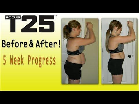 Plus Size Focus T25 Modify Progress Results - смотреть онлайн на Hah