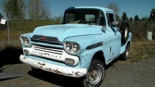1959 Chevy Napco 4X4 Restoration Part 1 (CTR 145)