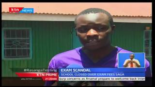 KTN Prime: Students from New Alumni-Kiambu are in a limbo after school closure, 12/10/16