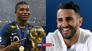 Riyad Mahrez explains why France produce more world class players than England!