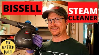 How to use the Bissell Steam shot Steam Cleaner