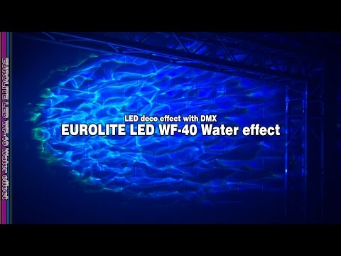 EUROLITE LED Water Effect WF-40