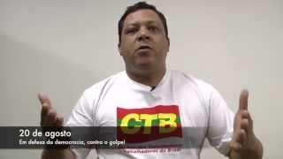 CTB convoca manifestações para o dia 20 de agosto