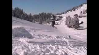 Basic freestyle ski tricks