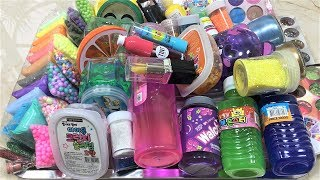 MIXING ALL MY INGREDIENTS INTO STORE BOUGHT SLIME!! SLIMESMOOTHIE! SATISFYING SLIME VIDEO PART 17 !