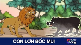 CON LỢN BỐC MÙI - Phim hoạt hình hay - Câu chuyện cuộc sống - Bài học ý nghĩa - Khoảnh khắc
