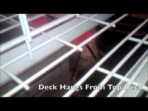 Pallet Rack Wire Deck Divider