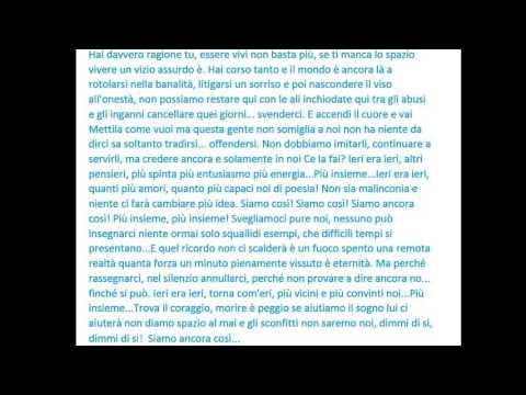 Renato Zero - Più Insieme (testo)