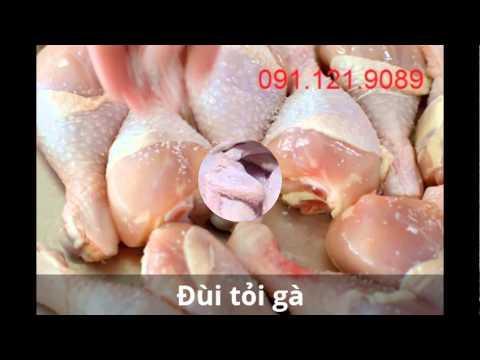 Cung cấp thịt gà đông lạnh - chân gà, cánh gà, đùi gà