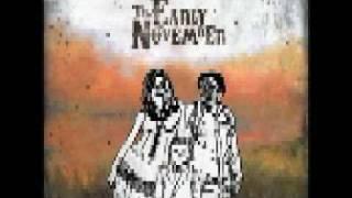 The Early November No good at saying sorry