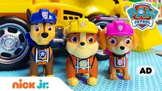 Toy Episode 🐶 Ultimate Construction Rescue W/ Chase, Marshall & More! | PAW Patrol | Nick Jr.