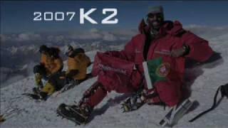 film de montagne : K2 expédition Joao Gracia