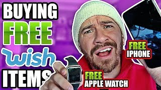 Buying The First 10 FREE Products Wish Recommended Me!! (TESTING KNOCK OFF TECH - WISH UNBOXING)