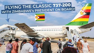 TRIPREPORT | Air Zimbabwe (ECONOMY) | Boeing 737 200 | Victoria Falls   Harare
