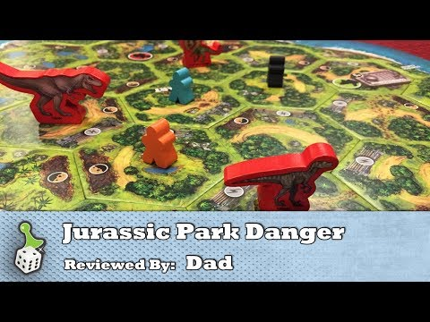 Survival seems impossible - The Board Game Family reviews Jurassic Park Danger!