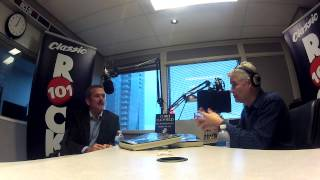 Rock 101's Willy Percy Interviews Chris Hadfield