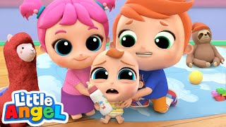 Baby Brother, We'll Take Care Of You | Little Angel Kids Songs & Nursery Rhymes