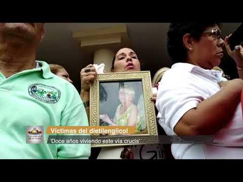 'Doce años viviendo este vía crucis' expresan las víctimas deldietilenglicol
