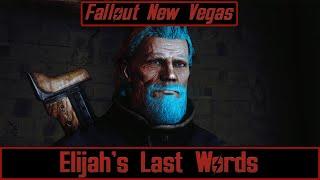 Elijahs Last Words