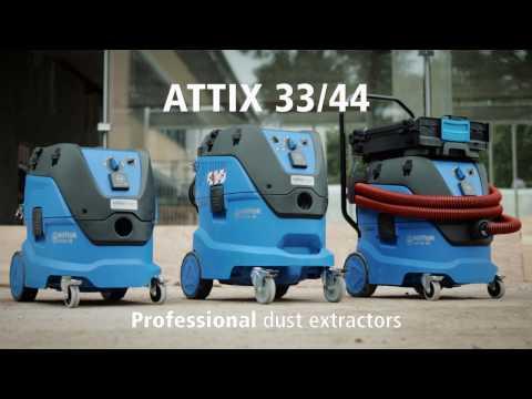 Ahlsell GROVDAMMSUGARE NILFISK ATTIX 33 2H PC 30L