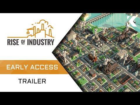 Rise of Industry - Early Access Trailer thumbnail