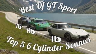 Best Of GT Sport: Top 5 6 Cylinder Exhaust Notes!