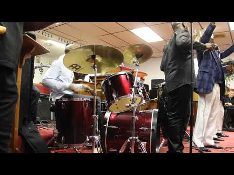 Great Drumming 'God has never failed me'