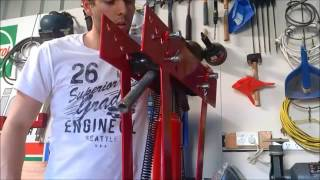 S&SCUSTOMS How to bend pipe to make go kart , mini bike frames etc OLD VIDEO RE UPLOAD