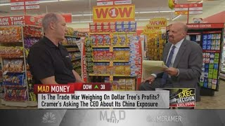 Dollar Tree CEO on mitigating tariffs on Chinese imports: 'We play hardball'
