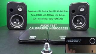 JBL Control One Audio Test