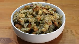 How to Make Stuffing | Easy Stuffing Recipe