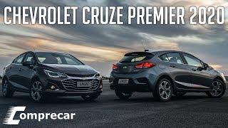 Chevrolet Cruze Premier 2020 com 4G e Wi-Fi - GM r