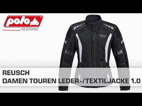 Reusch Damen Touren Leder/Textil Jacke