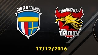 [17.12.2016] [EA CCW 2016] UNITED CONSOLE vs INDONESIA TRINITY [Group Stages]