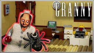"""LEGO Мультфильм Granny 4 """"Новая Жизнь"""" / LEGO Granny Stop Motion"""