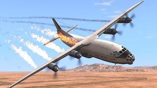 Вот почему люди не любят летать на самолете.. BeamNG Drive.
