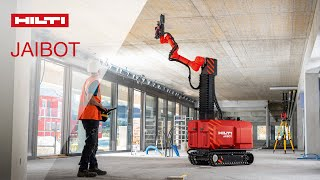 Hilti JAIBOT for construction automation of overhead drilling